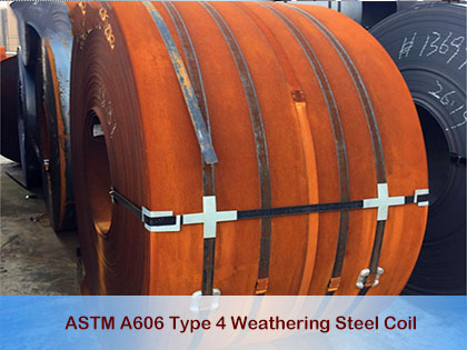 ASTM A606 Type 4 Weathering Steel Coil