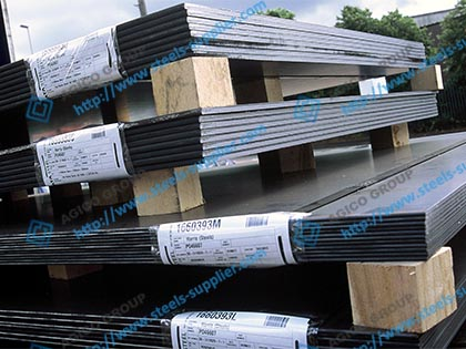 Cold Rolled Steel Plates ANSON
