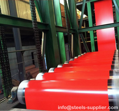 Prepainted Steel Coil Production