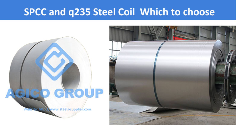 SPCC and Q235 Steel Coil