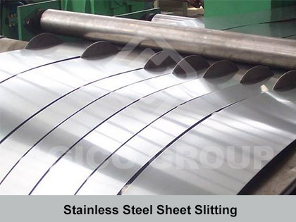 Stainless Steel Sheet Slitting