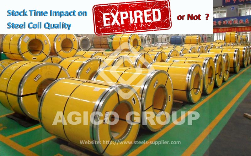 Steel Coil Quality Imact by Stock Time