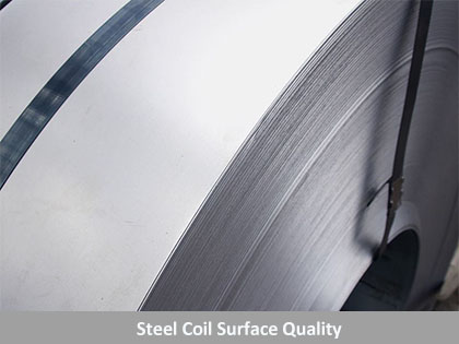 Surface Quality of Steel Coil