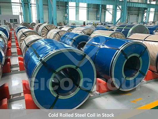 Cold Rolled Steel Coil in Stock