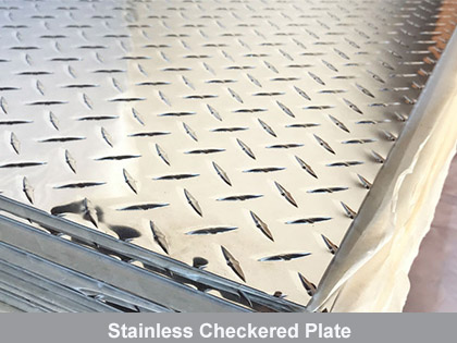 Stainless Checkered Plate