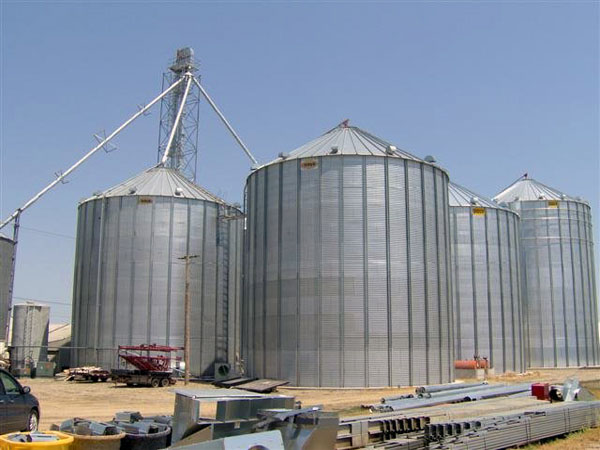 Steel Grain Silos Project